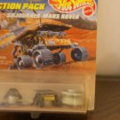Hot Wheels / Action Pack JPL Sojourner Mars Rover , Speed Racer, Batmobile, '62 mustang