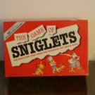 Sniglets / The game of Sniglets
