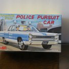Plymouth Fury Police car model kit box