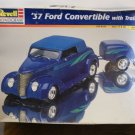 '37 Ford convertible with trailer model kit
