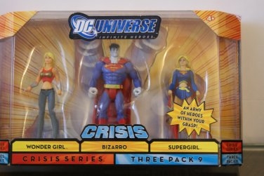 DC action figures / 2 G.I. joes....