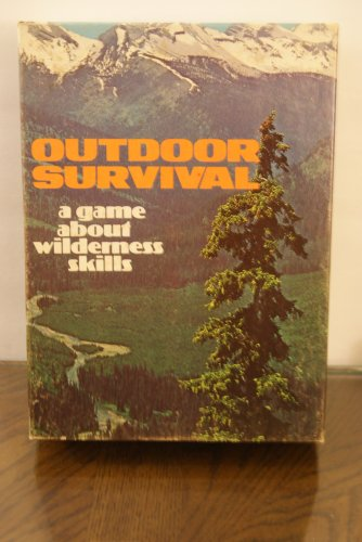 Outdoor Survival game / bookcase game