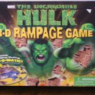 The Incredible Hulk 3-D rampage game
