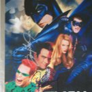 Val Kilmer , Tommy Lee Jones, Jim Carrey / Batman Forever autographed photograph