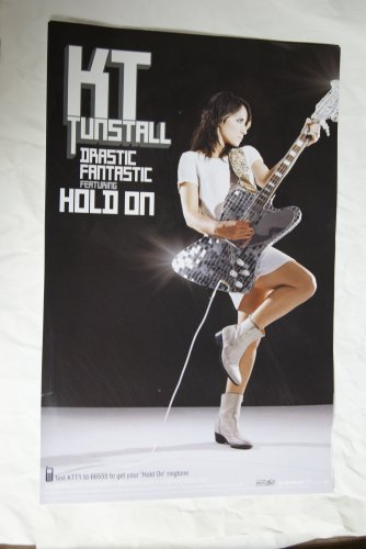 K T Tunstall promotional placard