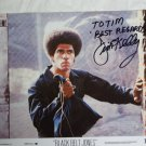 Jim Kelly autographed photograph