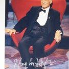 Hugh Hefner autographed photograph