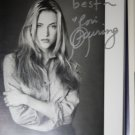 Lori Heuring autographed photograph