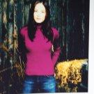 Kristin Kreuk autographed photograph
