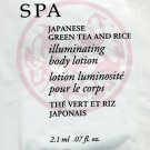 Avon Planet Spa Sample-Japanese Green Tea & Rice Illuminating Body Lotion