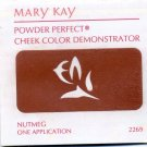 Mary Kay Powder Perfect Cheek Color Sample -Nutmeg
