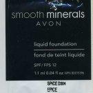 Smooth Minerals  Foundation  Sample SPF 12-Medium Beige!
