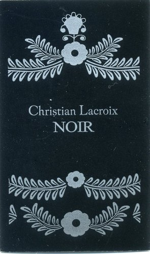 Avon Fragrance Sample- Christian Lacroix~Noir!