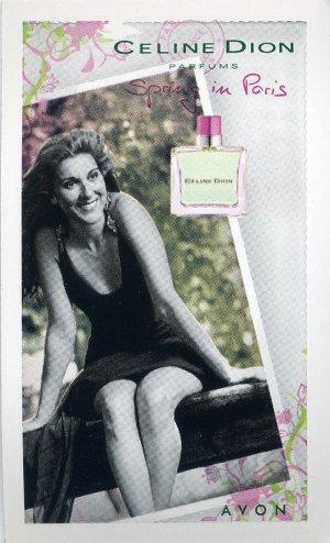 Avon Fragrance Sample- Spring In Paris by Celine Dion!