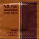 Avon Mens Cologne Sample - Musk For Men!