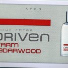 Avon Mens Cologne Sample - Driven Warm Cedarwood by Derek Jeter!
