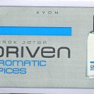 Avon Mens Cologne Sample - Driven Aromatic Spices by Derek Jeter!