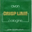 Avon Mens Cologne Sample - Crisp Lime!