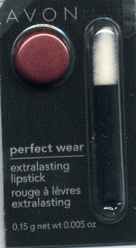 Avon Perfect Wear Extralasting Lipstick~Enduring Wine!