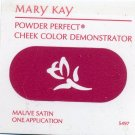 Mary Kay Powder Perfect Cheek Color Sample-Mauve Satin!