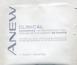 Avon Sample - Anew Advanced Retexturizing Peel!