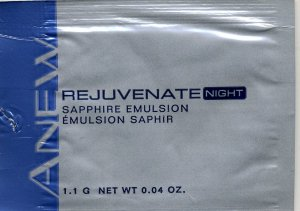 Avon Anew Rejuvenate Night Sapphire Emulsion Sample!
