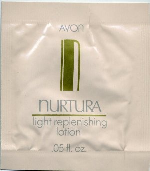 Avon Nurtura Light Replenishing Lotion Sample!