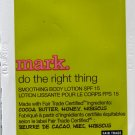 Mark Sample-Do The Right Thing Smoothing Body Lotion SPF 15!