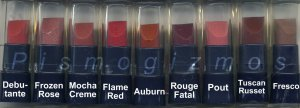 Avon Ultra Color Rich Renewable Lipstick Sample-Flame Red!