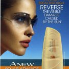 Avon Solar Advance Sunscreen Face Lotion SPF 45 Sample