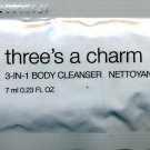 Mark Three&#39;s A Charm Lemon Sugar 3-in-1 Cleanser Sample
