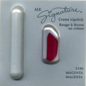 Mary Kay Magenta Signature Creme Lipstick Sample