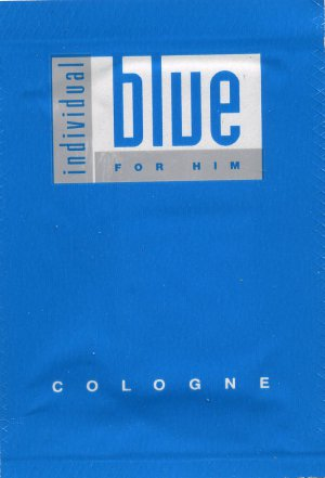 Avon's Individual Blue For Him Cologne Sample