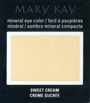 Mary Kay Sweet Cream Mineral Eye Shadow Sample