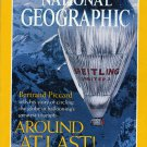 National Geographic Septemeber 1999- Bertrand Piccard- Around at Last