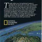 Capsian Sea Map - National Geographic May 1999