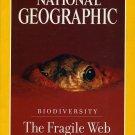 National Geographic February 1999- biodiversity the Fragile Web