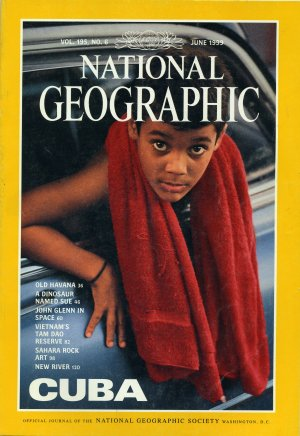 National Geographic June 1999-Cuba!