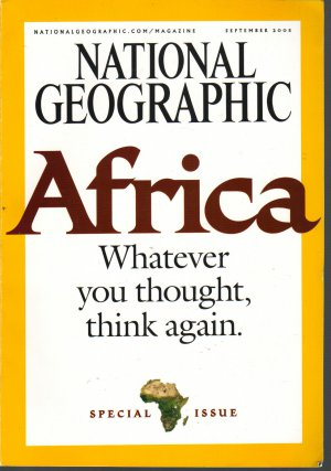 National Geographic Septemeber 2005-AFRICA SPECIAL ISSUE + * Map Supplement