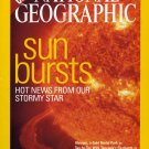 National Geographic July 2004-Sun Bursts-Hot News from Our Stormy Star