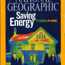 Back issue of National Geographic March 2009 -Saving Energy It Starts At Home