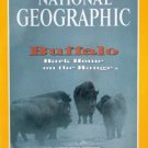 National Geographic November 1994-Buffalo Back Home on the Range