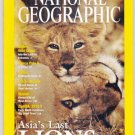 National Geographic June 2001-Asia's Last Lions