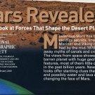 National Geographic MAP February 2001-Mars Revealed