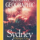 National Geographic August 2000-Sydney Olympic City