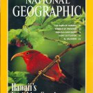 "National Geographic September 1995-Hawaii""s Vanishing Species + *MAP*"