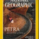 National Geographic December 1998 Petra:Ancient City Of Stone
