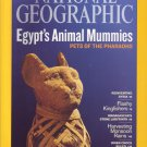 National Geographic November 2009- Egypt's Animal Mummies:Pets of the Pharaohs