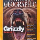National Geographic July 2001 Grizzly Cornered