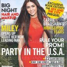 TEEN VOGUE April 2010 Miley Cyrus Carrie Bradshaw's High School Years